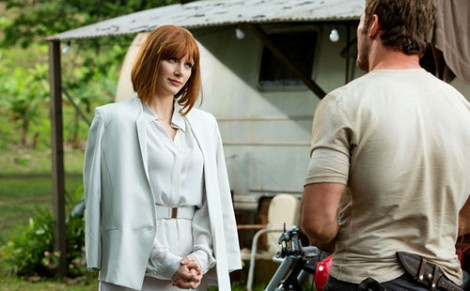 COURTESY OF 3XZ VIA FANPOP.COM Jurassic World introduces a fresh take on the franchise with a mostly new cast led by Bryce Dallas Howard and Chris Pratt.