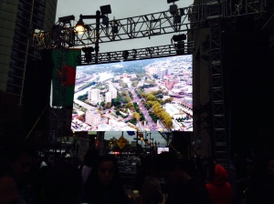 Courtesy of CATHERINE PALMER  The two-hour Papal Mass was held in front of the Philadelphia Museum of Art on the Benjamin Franklin Parkway and attended by about 860,000.