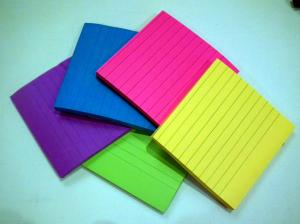 RAMESH NG/ CC BY-SA 2.0 Available in many vibrant colors, these versatile pads of paper help me keep my life together.