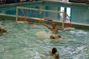 COURTESY OF ANNE DUNCAN Hopkins Water Polo took third at the D-III tournament championship.