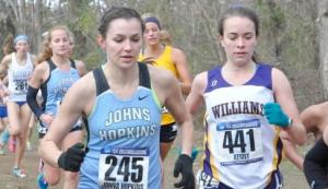 HOPKINSSPORTS.COM The 2015 NCAA championships — the goal of the Women's XC.