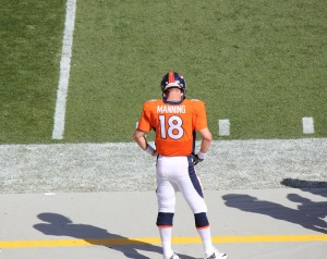 Courtesy of  JEFFERY BEALL via FLICKR  Peyton Manning has not performed to his usually high standards.