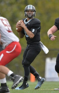 HOPKINSSPORTS.COM Jonathan Germano piled up 287 yards and two scores.