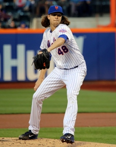 COURTESY OF ARTURO PARDAVILA III VIA FLICKR Jacob deGrom leads a young, flame throwing Mets rotation.