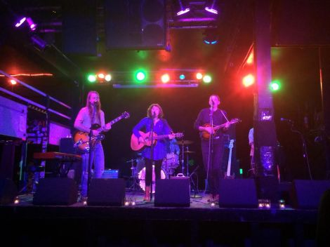 Courtesy of SARAH SCHREIB Folk group Sweet Saro played an engaging set at The Ottobar.