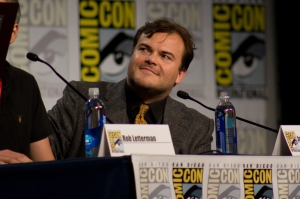 Courtesy of VAGUEONTHEHOW/ CC-BY-2.0 Jack Black plays the character R.L. Stine, author of the popular children's book series, Goosebumps.