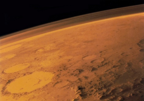 NASA/JPL/UNIVERSITY OF ARIZONA Mars once had an ocean but is now typically viewed as an arid planet.