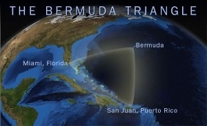 NOAA'S NATIONAL OCEAN SERVICE/ CC BY-SA 3.0 Many ships have been lost at sea in the area known as the Bermuda Triangle.