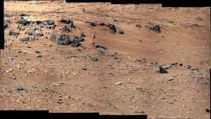 NASA/JPL-CALTECH/MSSS  A new model was used to extrapolate the existence of a river system earlier in Mars's history.