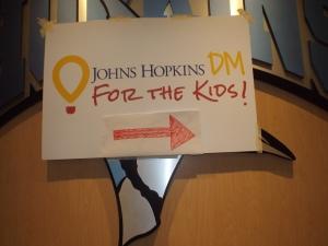 Courtesy of Ellie Hallenborg Dance Marathon raised money for the Johns Hopkins Children's Center.