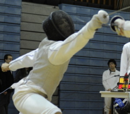 HOPKINSSPORTS.COM The fencing team placed multiple players in the top ten in its season opener.