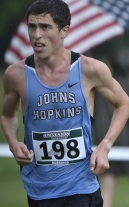 HOPKINSSPORTS.COM Sophomore Louis Levine placed first among Blue Jay runners.