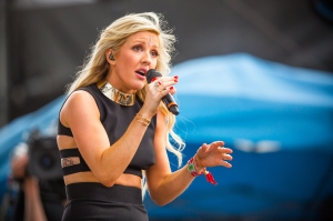 THOMAS HAWK/ CC-BY-NC-2.0 British electro-pop singer Ellie Goulding's latest release, Delirium, displays noticeable growth.
