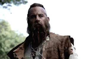 DARKSARCASM via FANPOP  In his latest role, Vin Diesel plays the immortal Witch Hunter, Kaulder.