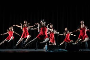 Courtesy of CINDY JIANG JHU Latin dance group Baila! showcased their skills in the midst of this year's Culture Show.